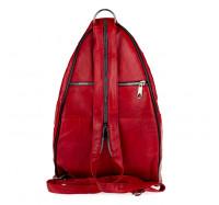 Женский кожаный рюкзак-сумка LT 5617 mix