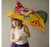 Детский зонт  3D D-55  Клоун