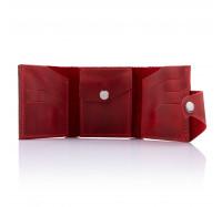 Кошелек кожаный Dezzle 2605 красный