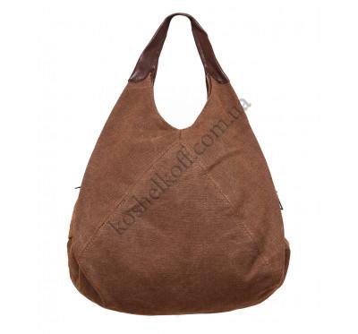 Оригинальная женская сумка с кожаными ручками 71609/1