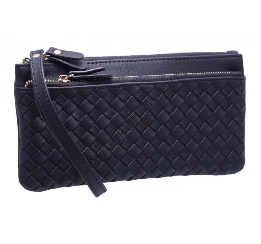 1f85a4270eee Оригинальный женский кошелек A843 black купить в интернет-магазине ...