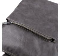 Женский городской рюкзак-сумка из искусственной кожи Goodyfun 8202 серый