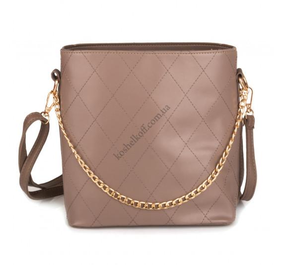 Модная  женская сумка   6668 khaki