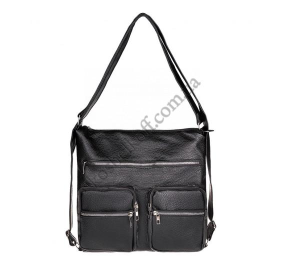 Женская сумка через плечо черная B-R-N 5604 (Турция)