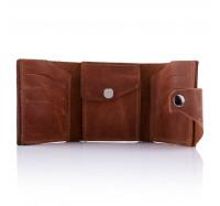 Кошелек кожаный Dezzle 2605 коричневый