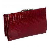 Кошелек женский кожаный Kafa с RFID защитой (AE214 red)