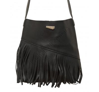 Модная  женская сумка через плечо X005 (черная)