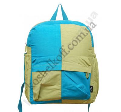 Городской рюкзак 5822 blue/yellow