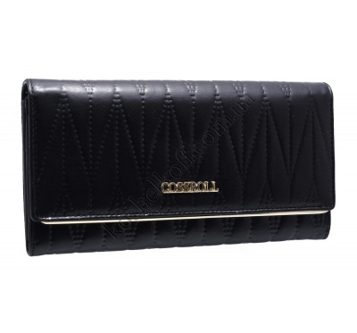 Классический женский кошелек A129-9202A black