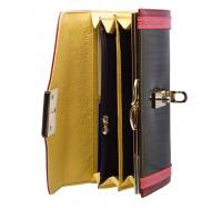 Классический кожаный кошелек AE450 green