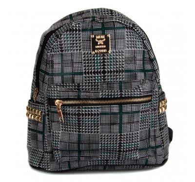 Маленький женский рюкзак  Seven 8150  зеленый
