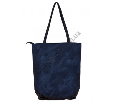 Вертикальная женская сумка 633 blue