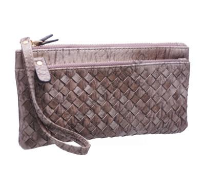Оригинальный женский кошелек A843 grey