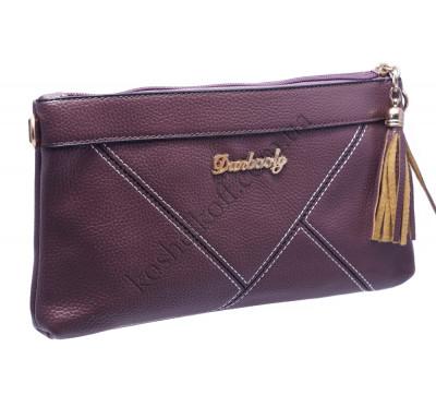 Стильный женский клатч 704 purple