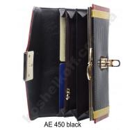 Кошелек на кнопке AE 450 Black