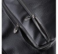 Женская сумка через плечо черная 5603 B-R-N (Турция)