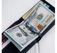 Кожаное портмоне с зажимом на магнитах Kafa 555-10