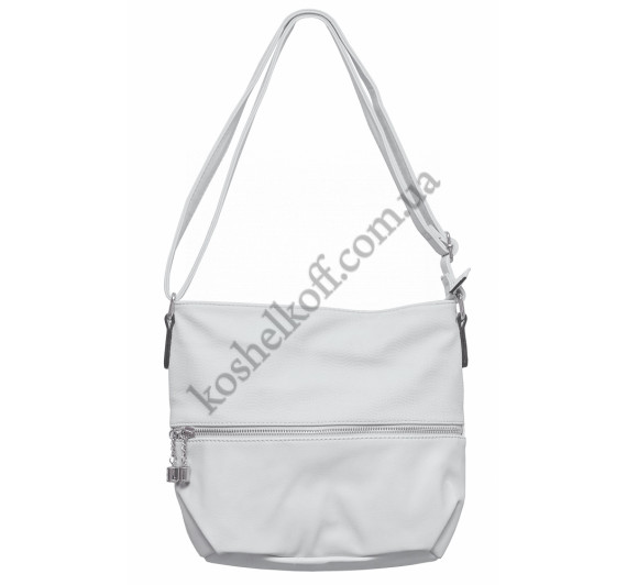 Женская сумочка через плечо 002 (серая)