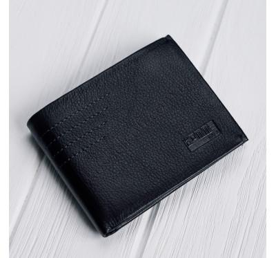 Кожаное портмоне с зажимом на магнитах Kafa 555-8