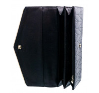 Классический женский кошелек A129-9202E black