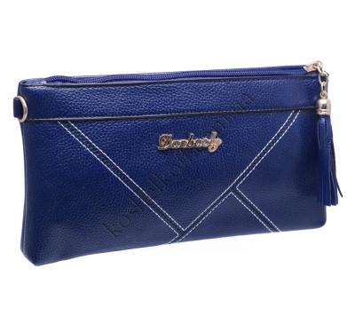 Стильный женский клатч 704 blue