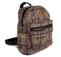 Маленький женский рюкзак  Seven 8150  коричневый