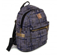 Маленький женский рюкзак  Seven 8150  синий
