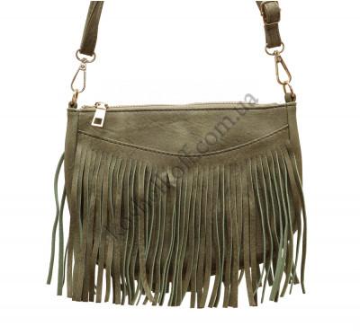 Модная женская сумка 6606 green