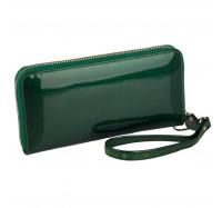 Кошелек женский кожаный Kafa с RFID защитой (BC74 green)