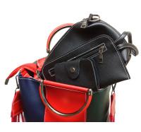 """Оригинальная трехцветная женская сумка """"4 в 1""""  P164/2"""