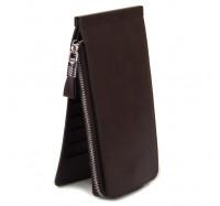 Женский кошелек-картхолдер Carrken темно-коричневый C010-5