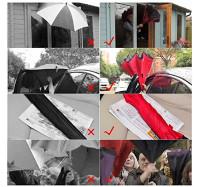 """Зонт обратного сложения """"Закат акварель"""" (5505)"""