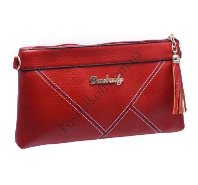 Стильный женский клатч 704 red