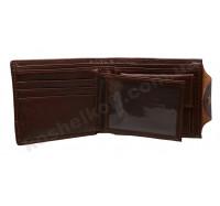 Портмоне  из натуральной кожи PIROYCE 208 brown