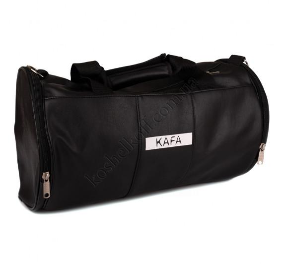 Спортивная сумка виниловая P103 black