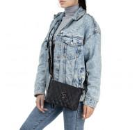 Женская сумочка через плечо черная Bagira 891