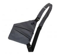 Мужская сумка-кобура cross body Lerom P8889 Grey