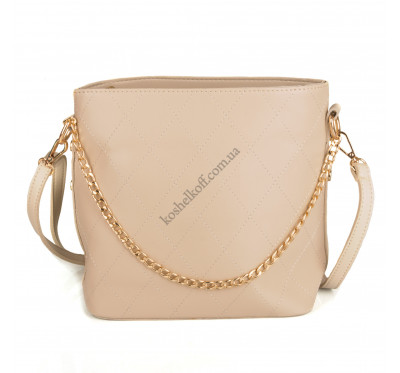 Модная  женская сумка   6668 beige