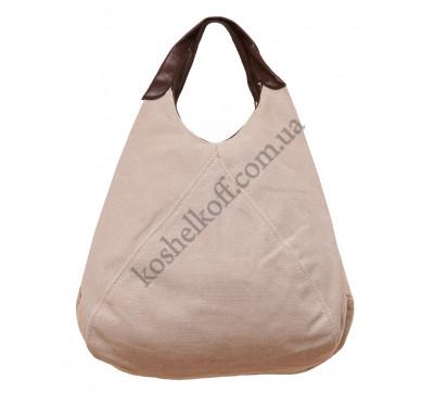 Оригинальная женская сумка с кожаными ручками 71609/3