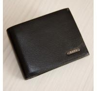 Кожаное портмоне с зажимом на магнитах Kafa 555-10m