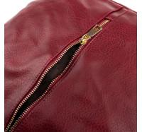 Сумка женская вместительная через плечо Bagira 870 Red