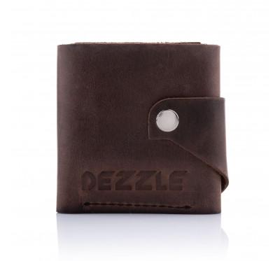 Кошелек кожаный Dezzle 2605 темно-коричневый