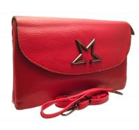 Женский стильный клатч 617  (красный)