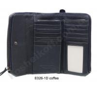Кошелек на кнопке E 026-1D Blue