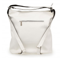 Женская сумка-рюкзак через плечо Sorella 9801 белая