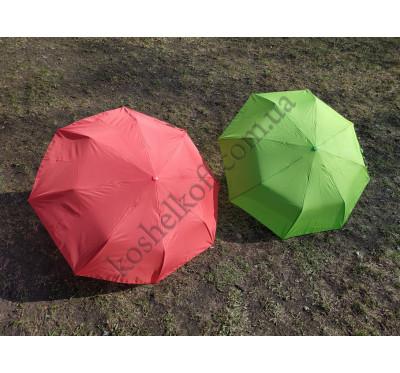 Яркий женский   зонт- полуавтомат UMBRELLA 3022