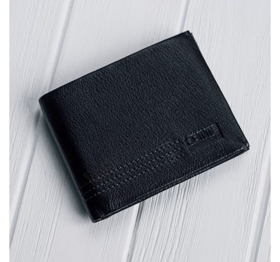 Кожаное портмоне с зажимом на магнитах Kafa 555-12