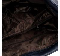 Сумка женская вместительная через плечо Bagira 970 Blue