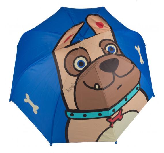 Детский зонтик  3D D-55  Бульдог