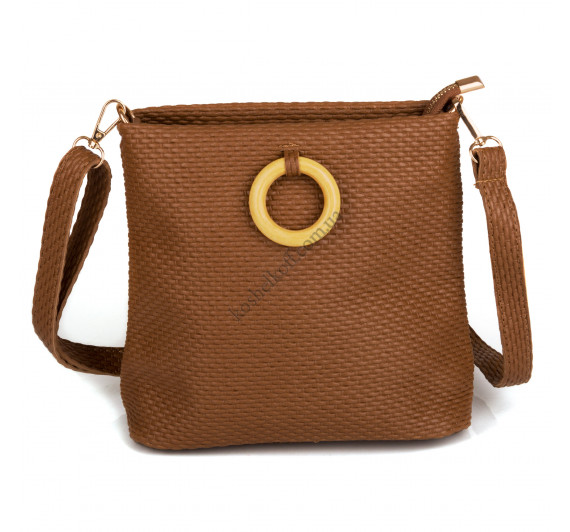 Стильная  женская сумка   3311 brown